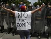 La situation de pénurie et famine au Venezuela provoque des manifestations et affrontements avec les forces armées