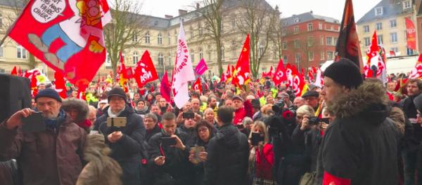 Rassemblement à Amiens pour la relaxe des Goodyear le 11 janvier 2017