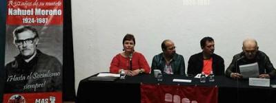Rassemblement en hommage à Nahuel Moreno au musée Léon Trotsky au Mexique