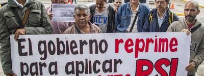 Assez de famine et de répression au Venezuela!