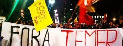 Brésil : Dehors Temer! À bas les réformes! Grève générale maintenant!