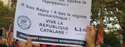 Appel du comité étudiant de Paris 3 en soutien au peuple catalan