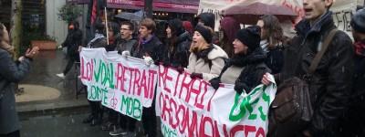 Mardi 06-02, journée de lutte nationale contre le plan étudiant et la réforme Vidal (reportage photos et vidéos)
