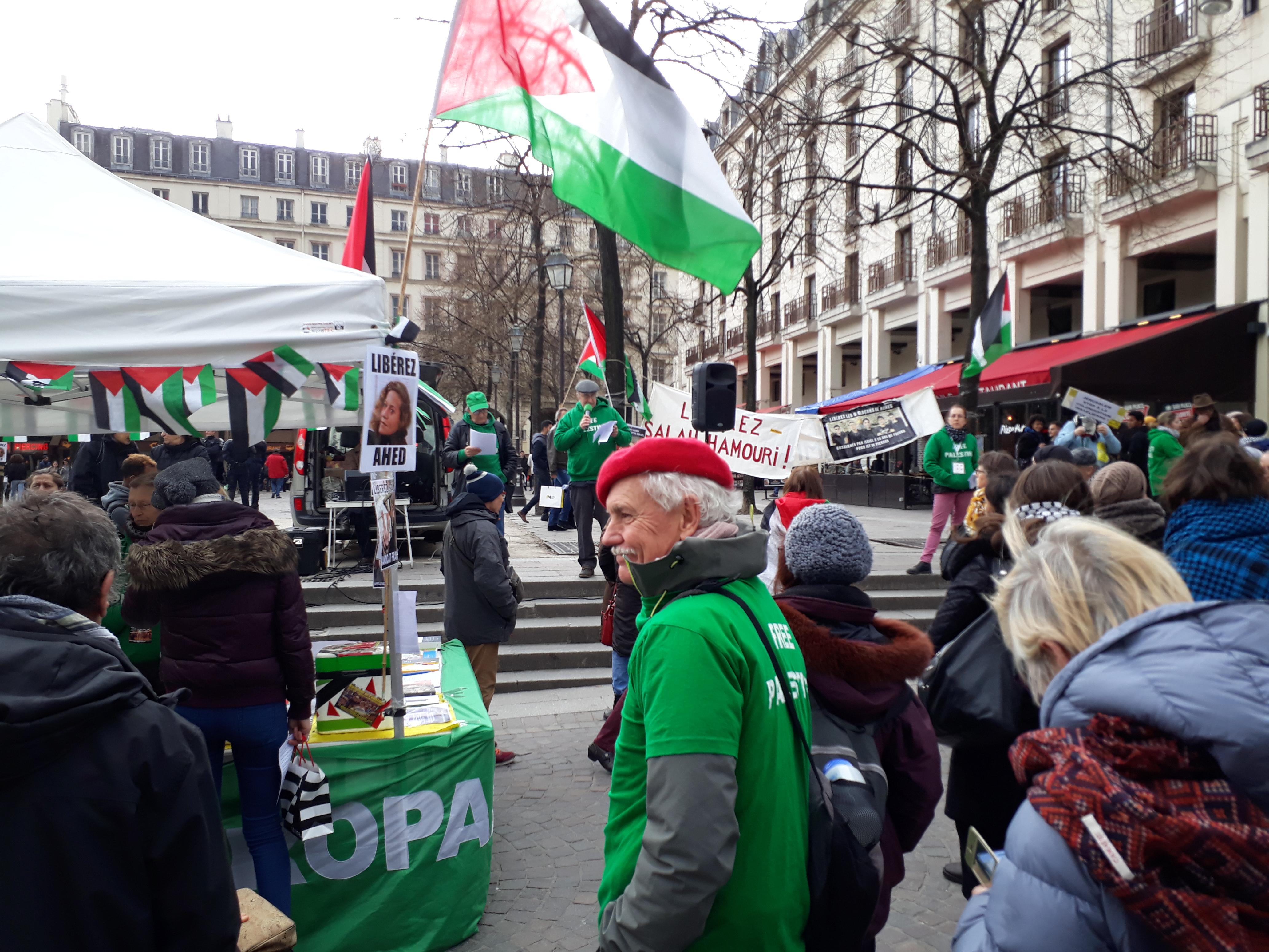Palestine :  Solidarité et appel à tous les syndicalistes (vidéo et photos)