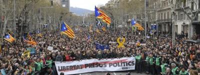 Liberté pour Puigdemont! Stop aux persécutions contre le peuple catalan!