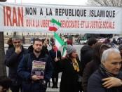 soutien revolution iranienne paris