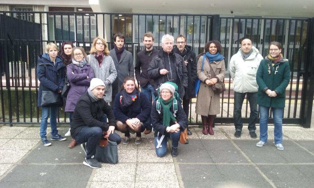 Grève pour soutenir un enseignant au collège Liberté (Drancy)