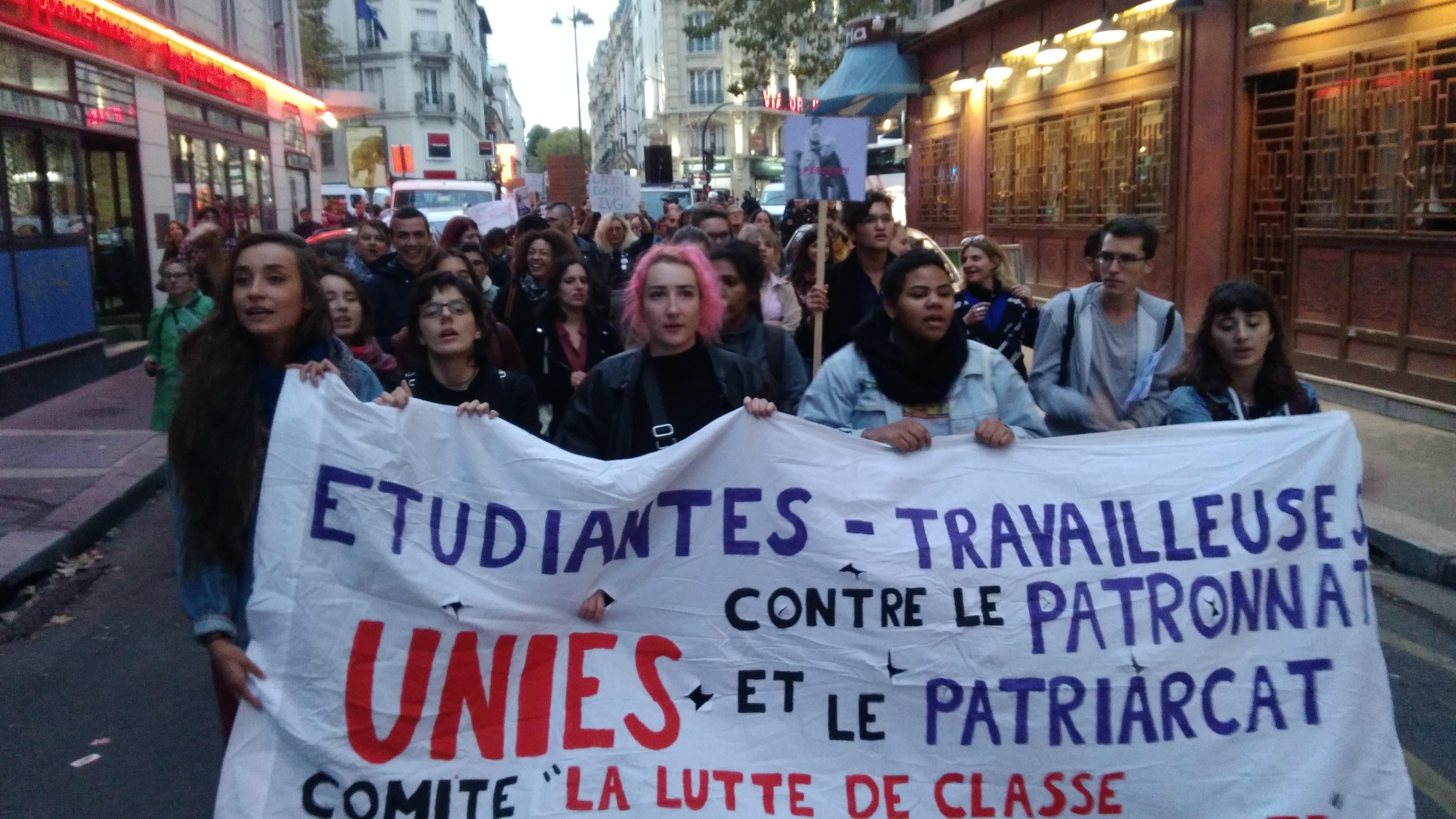 28/09/18 : manifestation pour le droit à l'avortement (photos et vidéo)