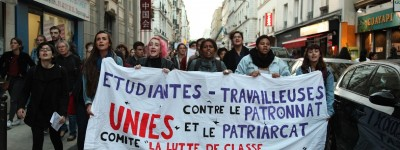 Manifeste du comité «La lutte des classes est féministe»