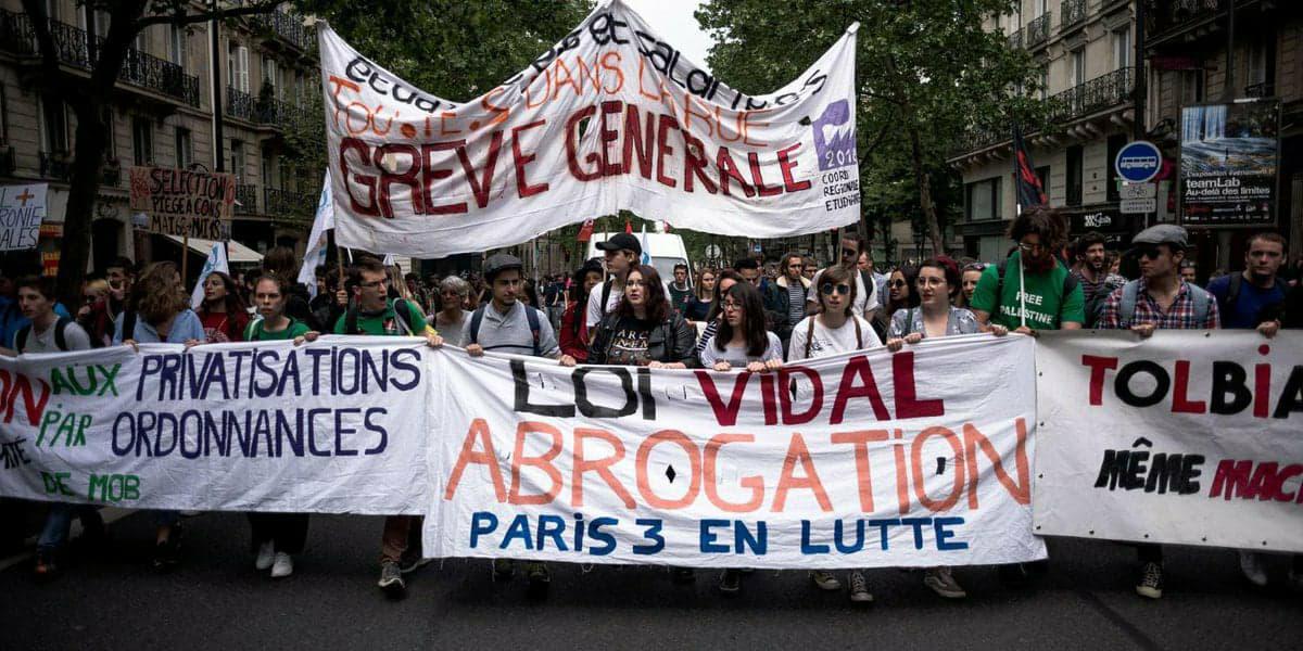 Interview de Keno syndicaliste à Solidaires Étudiant-e-s Paris 3