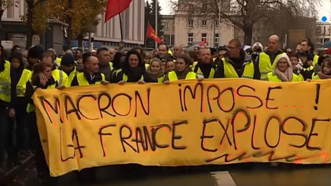 Acte 4:Tous ensemble, grève générale pour chasser Macron! Edito Internationaliste 183