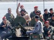 Maduro, en pleine parade militaire...