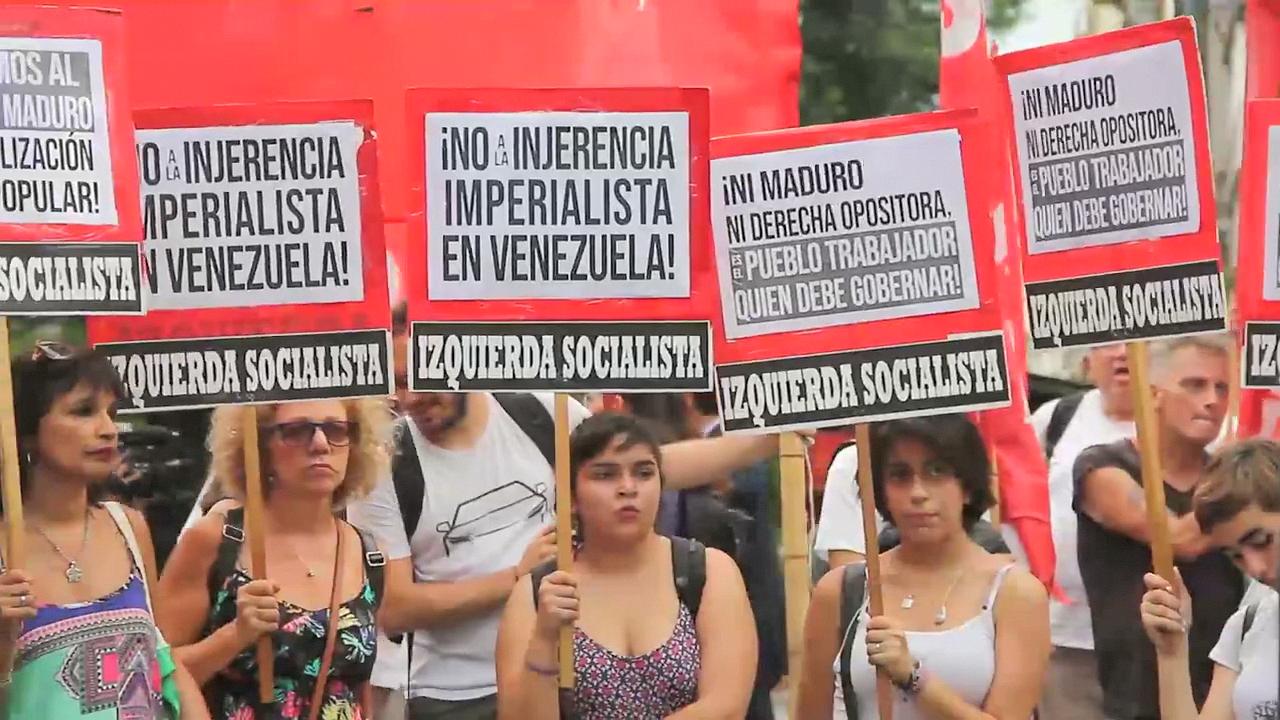 Argentine : Non à l'ingérence impérialiste au Venezuela !