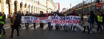 Abstention militante pour Macron démission – Édito de l'Internationaliste 184