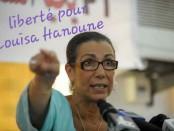 Louisa Hanoune, dirigeante du Parti des Travailleurs