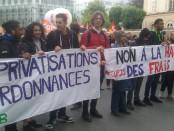 Paris le 9 mai 201 9, Manifestation en défense de la fonction publique