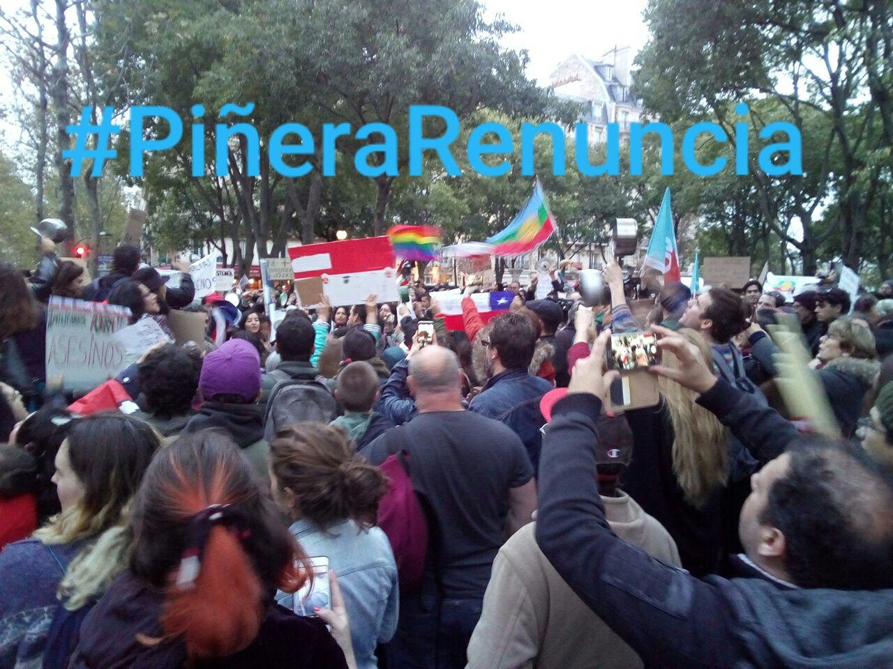 Chili : Vive la grève générale ! Piñera démission !