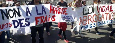 Keno, syndicaliste de Solidaires Paris 3, sur la rentrée et la supposée augmentation des bourses