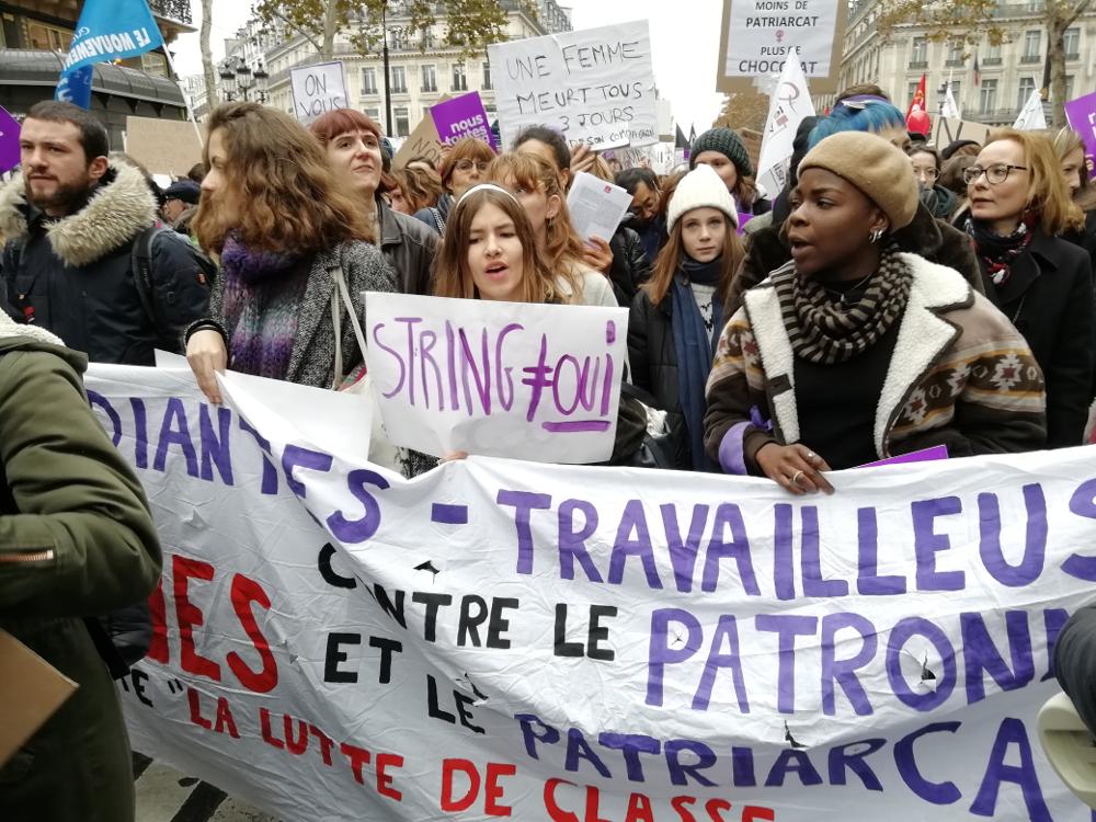 Journée mondiale contre les violence sexistes et sexuelles