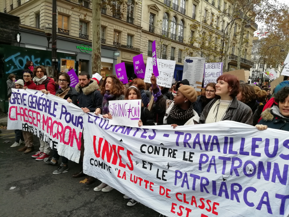 Keno, militant à Solidaires étudiant-e-s Paris 3, sur la préparation de la journée mondiale contre les violences sexistes et sexuelles