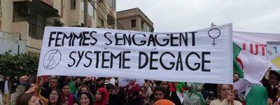 Algérie: «RÉGIME DÉGAGE!»