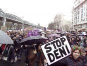 Manifestation féministe à Paris le 8 mars 2020 pour la journée internationale des droits des femmes