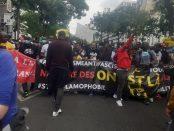 20 juin 2020 à Paris manifestation antiraciste régularisation des sans papiers