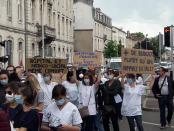 Manifestation de la santé 16 juin 2020 Nancy