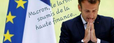 Contre-réforme des retraites, Macron persiste...