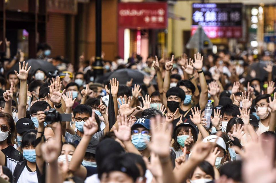 HK - 1er juillet 2020