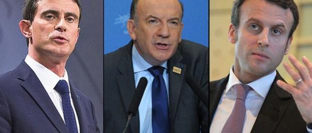 Macron Valls Gattaz