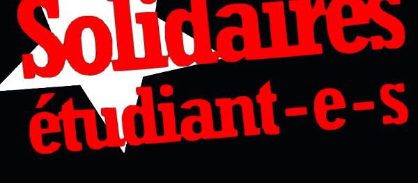 Logo Solidaires Etudiant-e-s