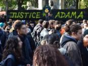 Manifestation Justice pour Adama le 5 novembre 2016