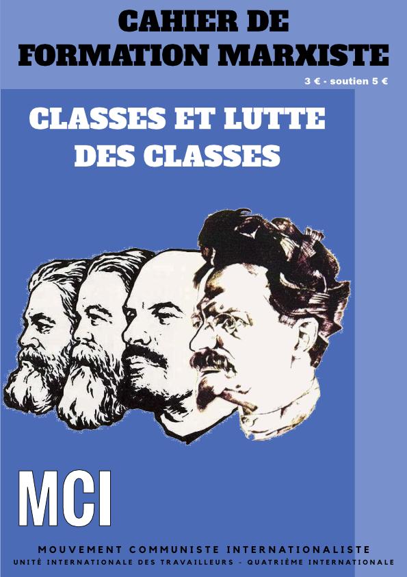 Cahier de formation marxiste – Classes et lutte des classes