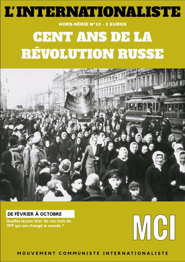 L'Internationaliste hors-série n°10 – Cent ans de la Révolution Russe