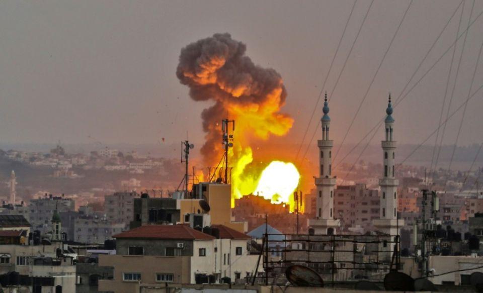 Halte aux bombardements d'Israël sur Gaza !