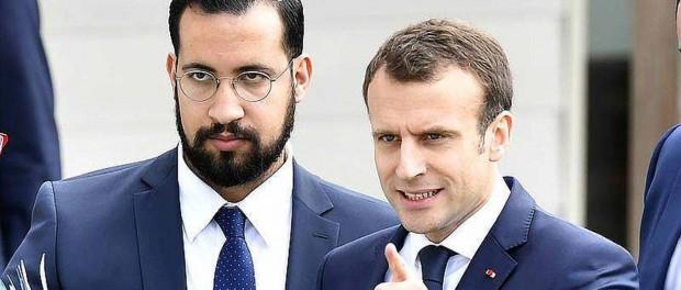 Macron et Benalla