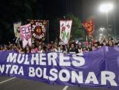 Manifestation des femmes au Brésil contre Bolsonaro