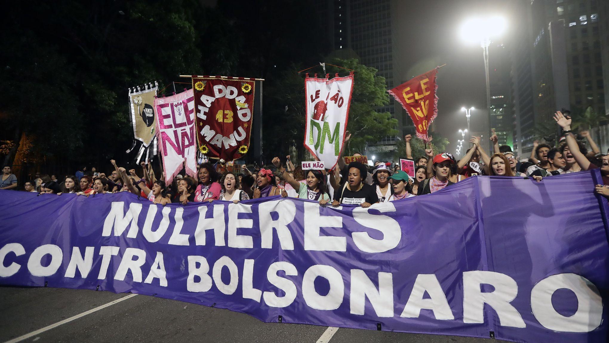Victoire électorale de Bolsonaro. Après les élections nous devons organiser la lutte pour défendre nos droits !