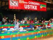 USTKE XVIeme congrès referendum indépendance