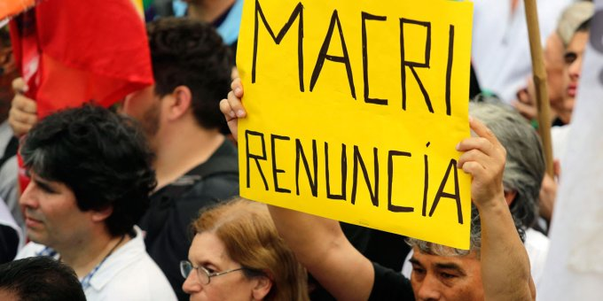 Argentine : face à la crise économique qui frappe durement le peuple travailleur les organisations trotskystes du FIT-U doivent sans attendre mobiliser pour dehors Macri et le FMI