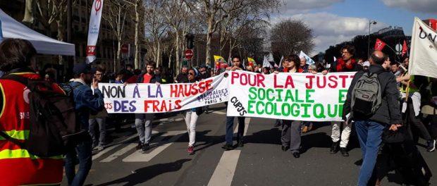Manifestation du 19 mars 2019 à Paris