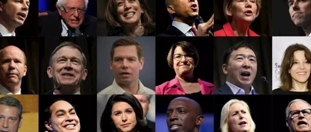 Candidats à l'élection présidentielle des USA