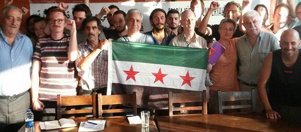 Conférence de soutien à la révolution syrienne à Istanbul 2015