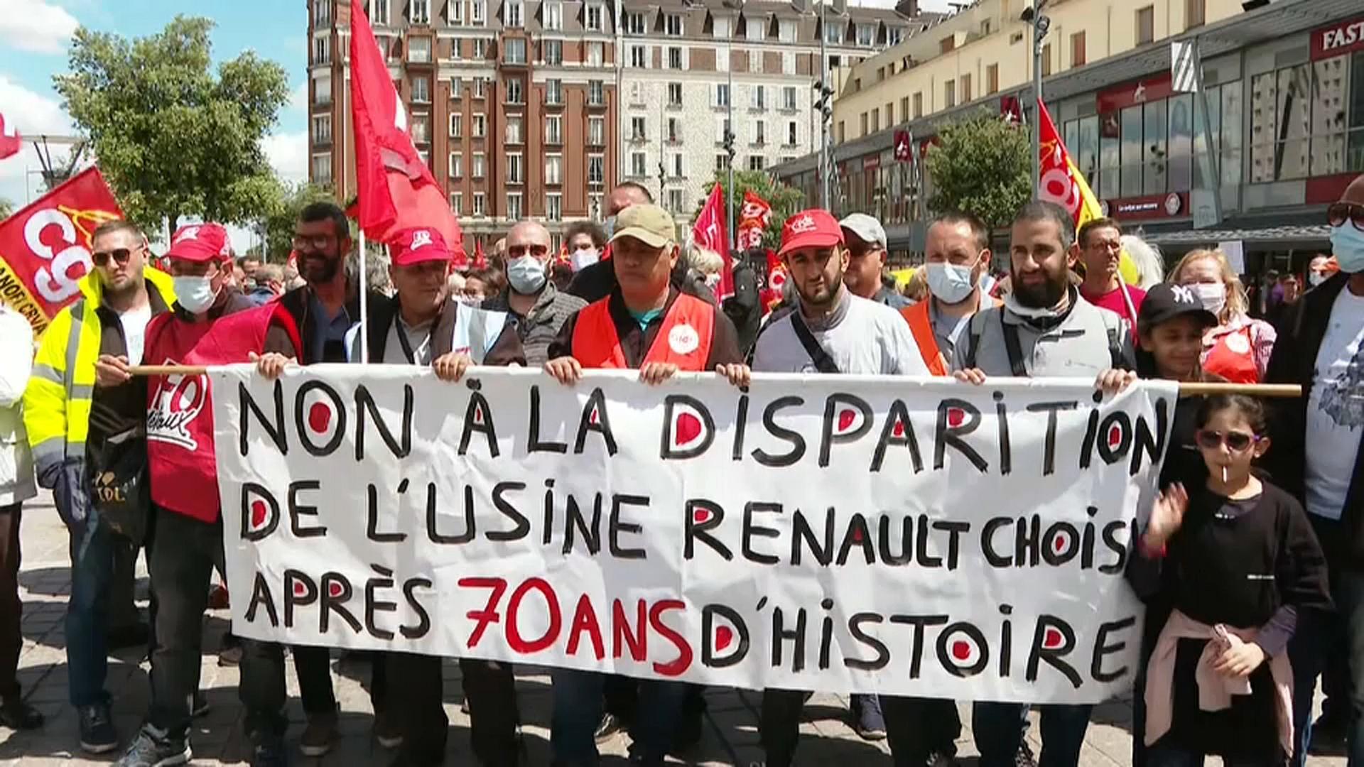 Quelle est la signification de la grève chez Renault?