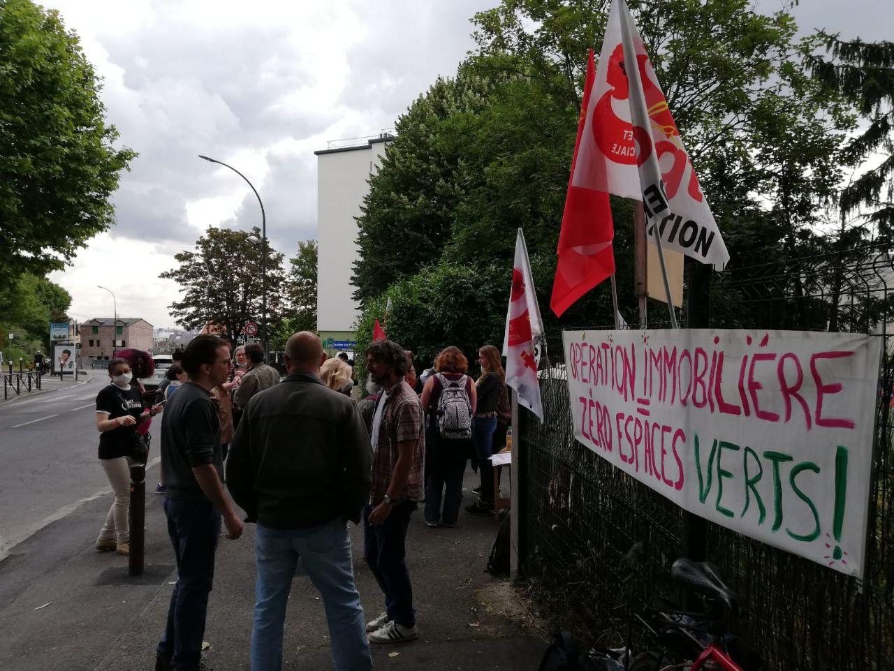 Santé,éducation: solidarité avec les salariés en lutte de l'institut médico-éducatif Le Guillant de Villejuif (94)!