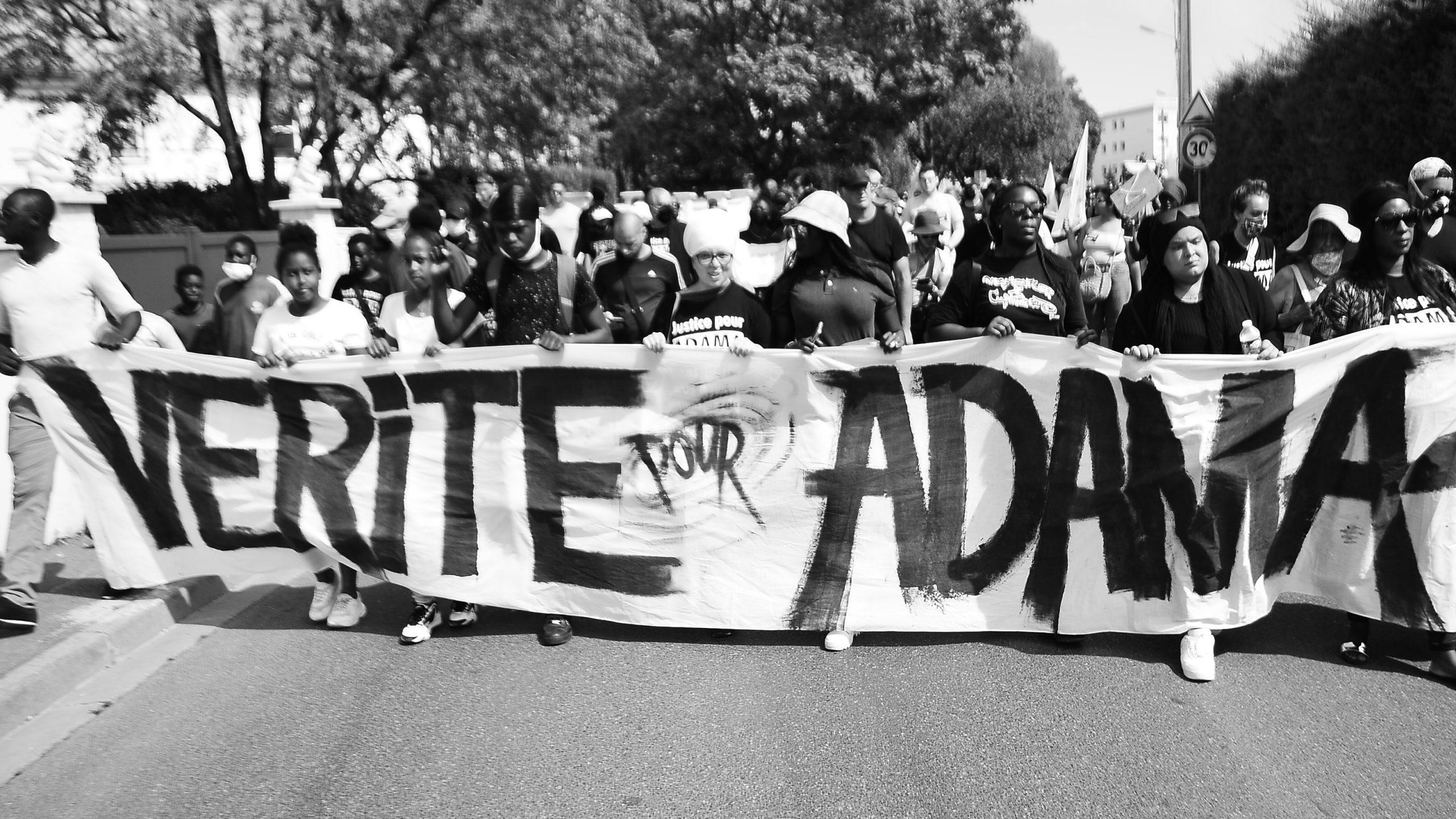 Justice pour Adama - Acte IV reportage du MCI (photos, vidéos)