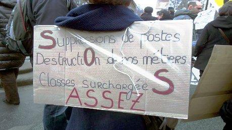 Enseignants: pour nos conditions de travail, toutes et tous en grève mardi 26 janvier!
