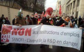 Manifestation nationale contre les licenciements