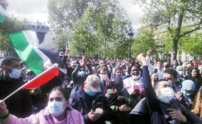 Samedi 15/05: Victoire! La manifestation parisienne en soutien au peuple palestinien a bien eu lieu ! (photos)